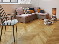 Parquet in quercia francese FRENCH OAK CLASSIC SATIN CHEVRON 90 - Chevron