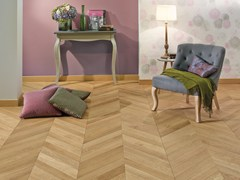 Parquet in quercia francese FRENCH OAK CLASSIC TOPAZE CHEVRON 90 - Chevron