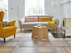 Parquet in quercia francese FRENCH OAK TUFEAU - GREY OIL PIXEL - Pixel