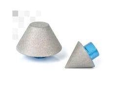 Frese diamantateFRESE CONICHE DIAMANTATE PER SVASATURA DI FORI – FPS - BREVETTI MONTOLIT