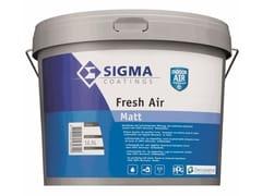 Pittura all'acqua per interni con materie prime rinnovabiliFRESH AIR - SIGMA COATINGS