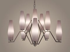 Lampada a sospensione a LED in vetro soffiatoFRIDA 01 - PATRIZIA GARGANTI
