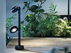 Lampada da terra per esterno a LED orientabile in alluminio verniciato a polvereFROG | Lampada da terra per esterno a LED - PLATEK