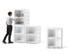 Mobile bar in polietilene FROZEN DISPLAY - PLUST COLLECTION BY EURO3PLAST