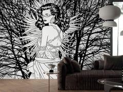 Carta da parati pop art in tessuto non tessutoFRUTTO DI BOSCO - TECNOGRAFICA