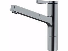 Miscelatore da cucina in acciaio optical FS TL PO DS | Miscelatore da cucina con doccetta estraibile - Frames