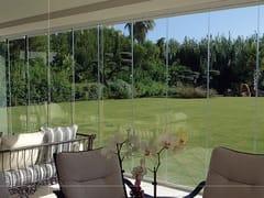 GFS ITALIAN INNOVATIVE GLASS FIXING, FSG-10 Vetrata panoramica senza profili verticali