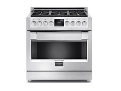 Cucina a libera installazione professionale in acciaio inoxFSRC 3606 P MG ED 2F X   Cucina a libera installazione - FULGOR MILANO BY MENEGHETTI