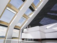 Finestra da tetto a bilico in pino con apertura elettricaFTU-V Z-WAVE - FAKRO