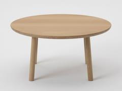 Tavolino rotondo in rovereFUGU 3306-31 - MARUNI WOOD INDUSTRY