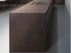 Laminam, FURNISHING - OSSIDO Lastra ceramica per piani orizzontali
