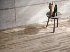 Pavimento/rivestimento in gres porcellanato effetto legnoFUSIONART BROWN - CERAMICA SANT'AGOSTINO