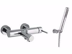 Miscelatore per vasca a 2 fori a muro con doccetta FUTURO - F6501-01 - Futuro