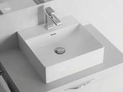 Lavabo singolo in ceramicaFYLO | Lavabo quadrato - BLOB
