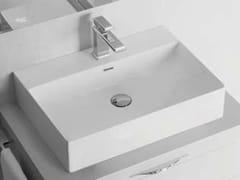 Lavabo rettangolare singolo in ceramicaFYLO | Lavabo rettangolare - BLOB