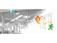 Gilgen Door Systems, Porta resistente al fuoco Porta resistente al fuoco scorrevole in vetro