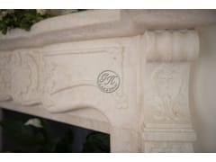 Caminetto in pietra naturale a pareteCaminetto 15 - GARDEN HOUSE LAZZERINI