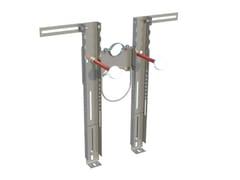 Staffa preassemblata per il fissaggio di WC e bidet sospesiFIscher PREMIUM - FISCHER ITALIA