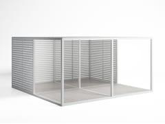 Frangisole orientabile in alluminioSerramento Aluminio Fisso - GANDIA BLASCO