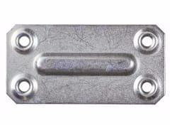 Piastre di fissaggio diritte in ferro zincatoPiastre di fissaggio diritte - UNIFIX SWG