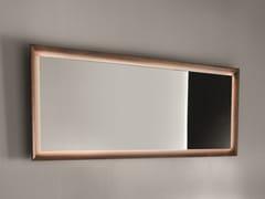 FALPER, Specchio con cornice Specchio con cornice in legno con illuminazione integra
