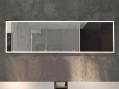FALPER, Specchio con cornice Specchio con cornice con illuminazione integrata