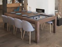Tavolo / tavolo da gioco in legnoWOOD-LINE | Tavolo - FUSIONTABLES SALUC