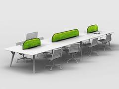 Pannello divisorio da scrivania fonoassorbenteG-DESK - GREEN MOOD - MUR VÉGÉTAL
