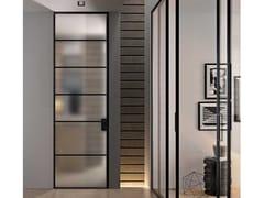 GIDEA, G-LIKE LINE Porta a battente in alluminio in stile moderno con cerniere a scomparsa