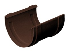 Giunto semplice bi-system per canale di gronda in PVCG100M - FIRST CORPORATION
