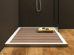 Relax Design, GADO Piatto doccia a doghe rettangolare in Luxolid®