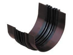 Giunto assemblato per canale di gronda in PVCGAG86 - FIRST CORPORATION