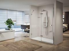 NOVELLINI, GALA 2P Box doccia a nicchia con porta a battente
