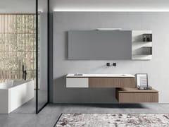Mobile bagno / mobile lavabo in legnoGALAXY 01 - BMT
