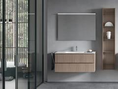 Mobile lavabo sospeso in legno con cassettiGALAXY 07 - BMT
