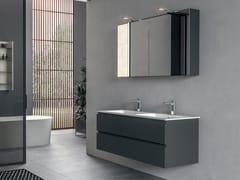 Mobile lavabo doppio laccato sospesoGALAXY 15 - BMT