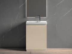 Mobile lavabo da terra laccato con specchioGALAXY 18 - BMT