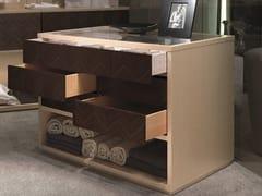Cassettiera in legno con maniglie integrateGALILEO | Cassettiera con maniglie integrate - CARPANELLI