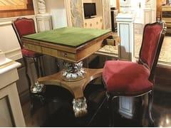 Tavolo da gioco quadrato in legnoGAME TABLE - ARNABOLDI INTERIORS