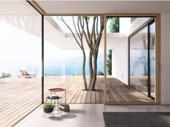 Essepi, GARDA Serramento a battente in legno-alluminio