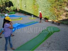 ARTMAN ITALIANA, GARDEN GOLF MINIGOLF Piste da minigolf prefabbricate in vetroresina