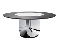 Tavolo da pranzo rotondo in acciaioGAUDI - FARGO HONGFENG INDUSTRIAL