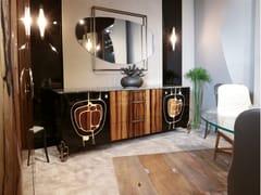 Madia in legno con cassetti e piano in marmoGEA - BELLOTTI EZIO ARREDAMENTI