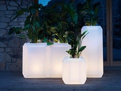 Myyour, GEM Vaso da giardino luminoso in plastica