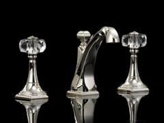 Miscelatore per lavabo a 3 fori da pianoGEMSTONE | Miscelatore per lavabo a 3 fori - DEVON&DEVON