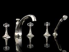 Set vasca a 5 fori con doccettaGEMSTONE | Rubinetto bordo vasca a 5 fori - DEVON&DEVON