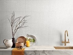 Rivestimento tridimensionale in ceramica a pasta biancaGENESIS - GRES PANARIA PORTUGAL S.A. - DIVISÃO LOVE TILES