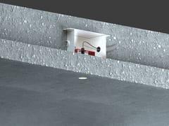 Faretto a LED rotondo in alluminio da incassoGENIUS CONCRETE - BUZZI & BUZZI