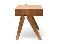 Scrivania rettangolare in rovereGEO'S TABLE - WE DO WOOD