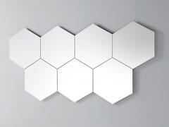 Specchio da parete GEOMETRIKA ESAGONALE -